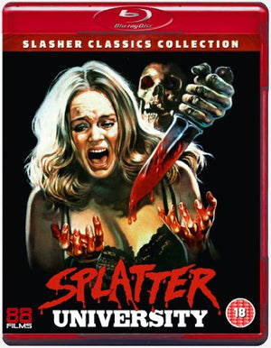 Splatter University - Blu-Ray - (Uncut) - Special Edition - Richard Haines