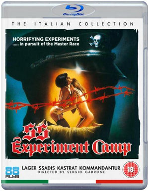 SS Experiment Camp - Blu-Ray - (Uncut) - Limited Edition - Sergio Garrone