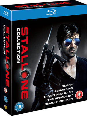 Stallone Collection - 5 Disc Blu-Ray Boxset - Region B - Sylvester Stallone