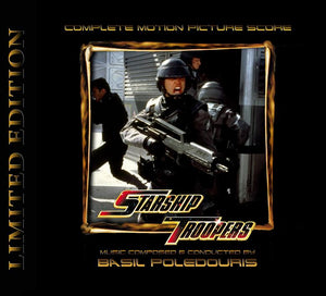 Starship Troopers - 2 x CD Complete Score - Limited 1000 Copies - Basil Poledouris
