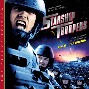 Starship Troopers - 2 x CD Deluxe Expanded Edition  - Basil Poledouris