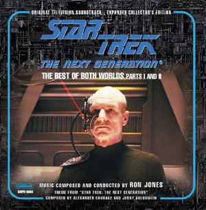 Star Trek Next Generation - Best Of Both Worlds I + II - Original TV Scores - Ron Jones / Jerry Goldsmith