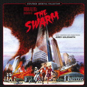 The Swarm - 2 x CD Complete Score - Limited 3000 Copies - Jerry Goldsmith