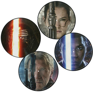 Star Wars The Force Awakens - 2 x LP Original Score - (Picture Disc Vinyl) - Limited Edition - John Williams