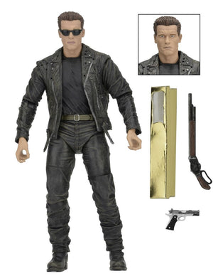 "Terminator - T800 25th Anniversay 3D Edition - 7"" Scale Figure - (DISCONTINUED) - NECA"