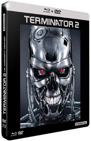 Terminator 2- 2 Disc Blu-Ray - (Uncut) - French Edition Slipcase - James Cameron