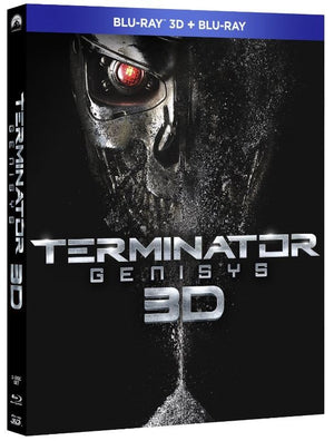 Terminator Genisys 3D - 2 Disc Blu-Ray - Special 3D Edition - Alan Taylor