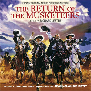 The Return Of The Musketeers - Complete Score  - Jean Claude Petit