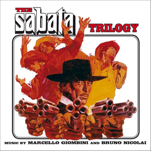 The Sabata Trilogy - 3CD Complete Scores  - Bruno Nicolai