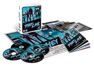 They Live - 4 x Disc BluRay Boxset - Limited Edition - John Carpenter