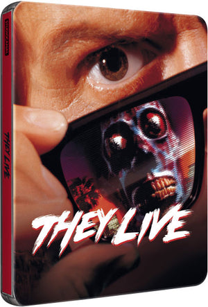 They Live - Blu-Ray Steelbook  - John Carpenter