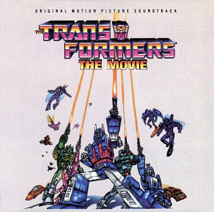 Transformers The Movie - Original Score - (Black Vinyl) - Limited Edition - Vince DiCola