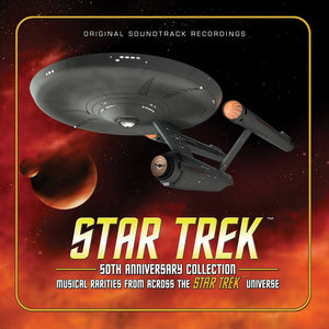 Star Trek 50th Anniversary Collection - 4 x CD Boxset - Limited 3000 Copies - Jerry Goldsmith / Alexander Courage