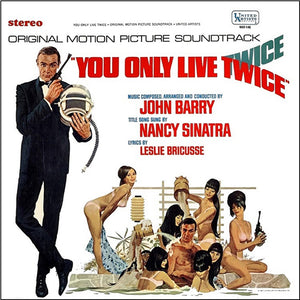 You Only Live Twice - Original Score - (Black Vinyl) - John Barry