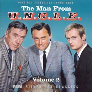 The Man From UNCLE Vol 2 - 2 x CD Complete Series  - Jerry Goldsmith / Lalo Schifrin
