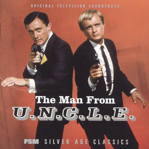 The Man From UNCLE - 2 x CD Complete Series  - Jerry Goldsmith / Lalo Schifrin