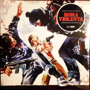 Roma Violenta - 2 x LP Complete - (Coloured Gatefold Vinyl) - Limited Edition - Guido & Maurizio DeAngelis