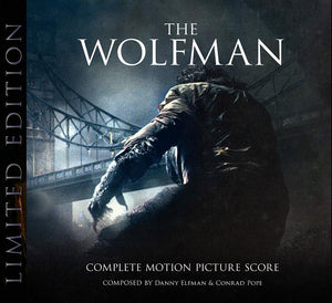 The Wolfman - 2 x CD Complete Score - Limited 1000 Copies - Danny Elfman