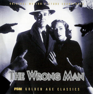 The Wrong Man - Complete Score - Limited Edition - Bernard Herrmann