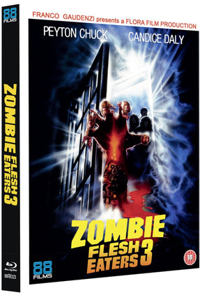 Zombie Flesh Eaters 3 - Blu Ray Slipcase - (Uncut) - Region Free - Claudio Fragasso