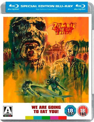 Zombie Flesh Eaters - 2 Disc Blu Ray - (SOLD OUT) - Lucio Fulci