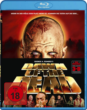 Dawn Of The Dead 3D - Blu Ray - (Uncut) - George Romero / Dario Argento