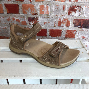 Earth Spirit - Taupe 'Savannah' Leather Sandal
