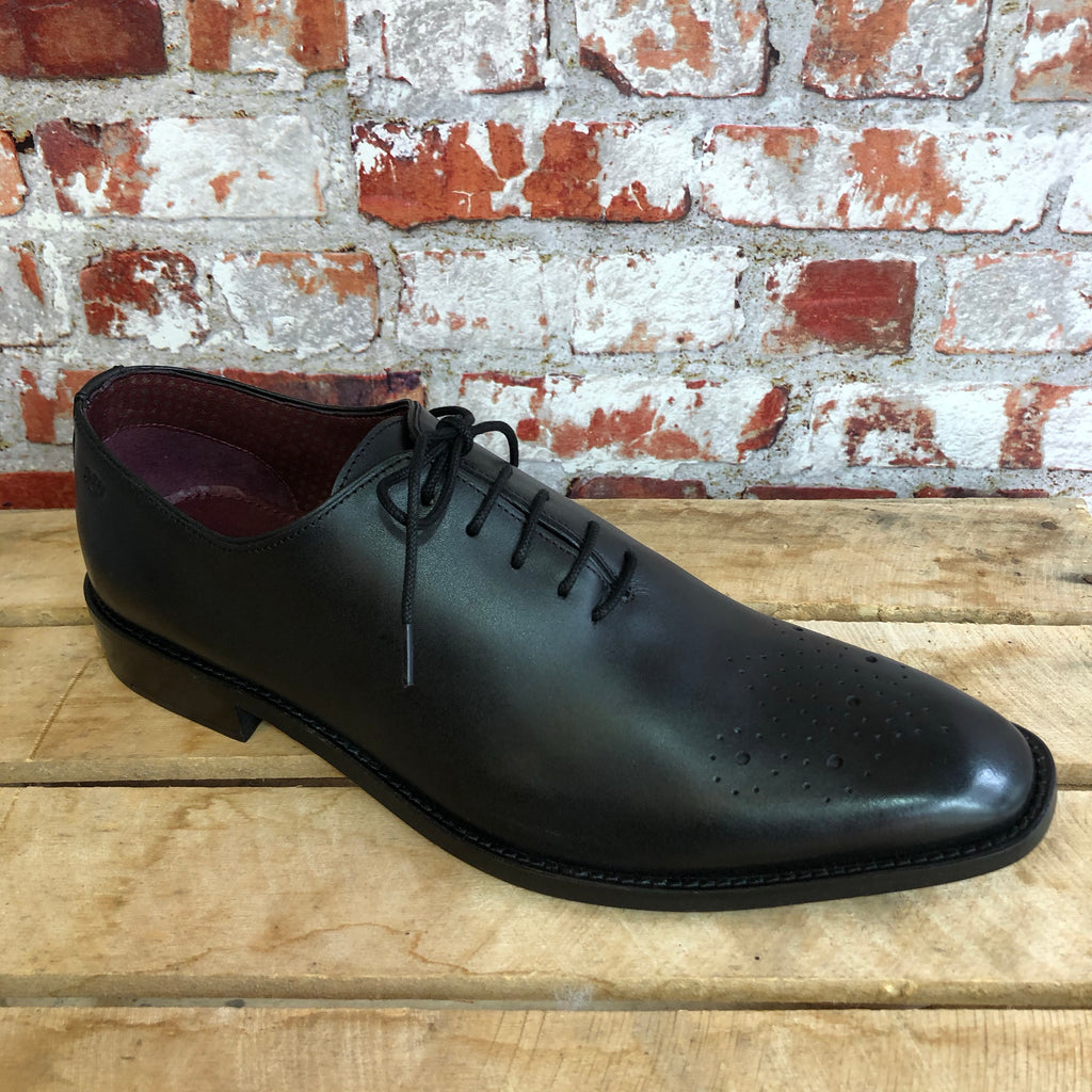 London Brogues - Black Leather Dress Shoe