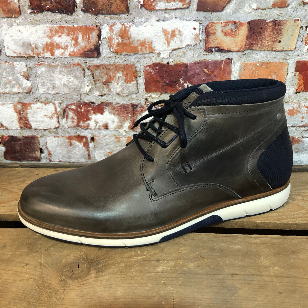 Escape - 'Cobra' Grey Casual Leather Boot