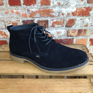 Xti - Navy Suede Boot