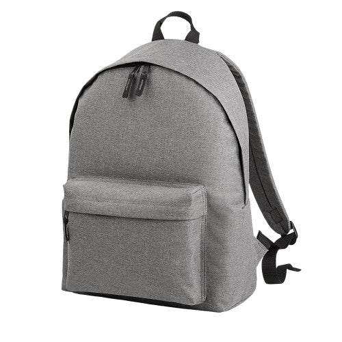 Front - Bagbase Two Tone Fashion Backpack / Rucksack / Bag (18 Litres)