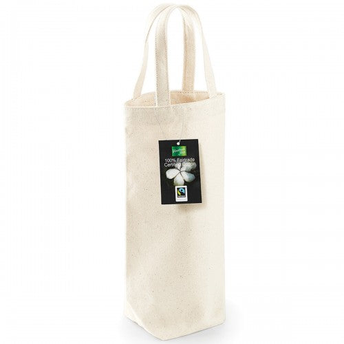 Front - Westford Mill Cotton Bottle Bag