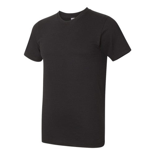 Front - American Apparel Mens Fine Jersey Tee