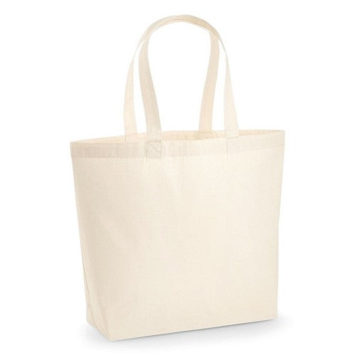 Front - Westford Mill Premium Cotton Maxi Tote Bag