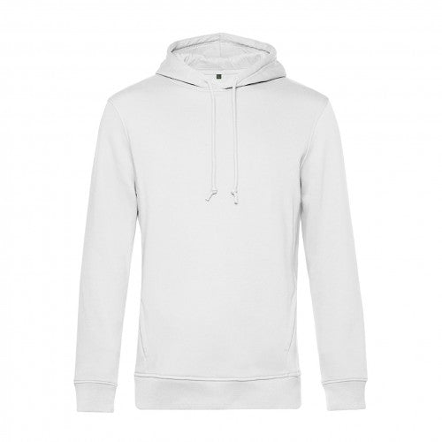 Front - B&C Mens Organic Hooded Sweater