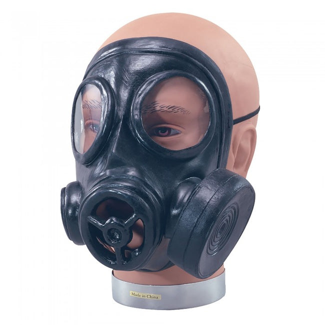 Front - Bristol Novelty Unisex Adults Latex Rubber Gas Mask