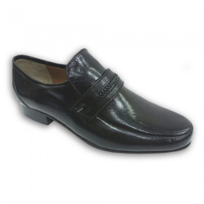 Front - Kensington Classics Mens Leather Gusset Shoes