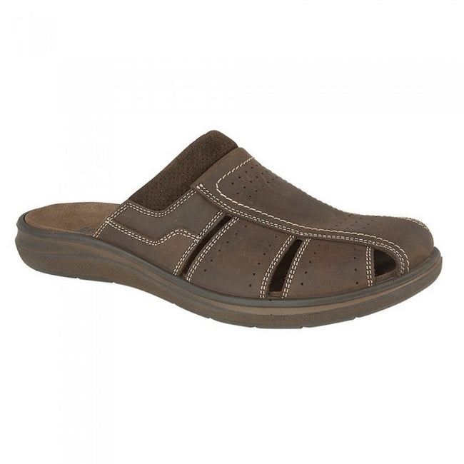 Front - IMAC Mens Casual Mule Sandals
