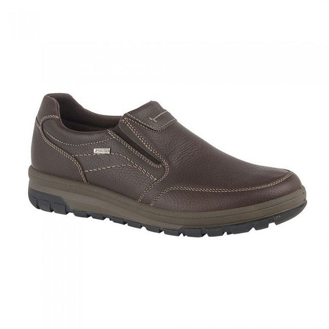 Front - IMAC Mens Grain Leather Casual Shoe