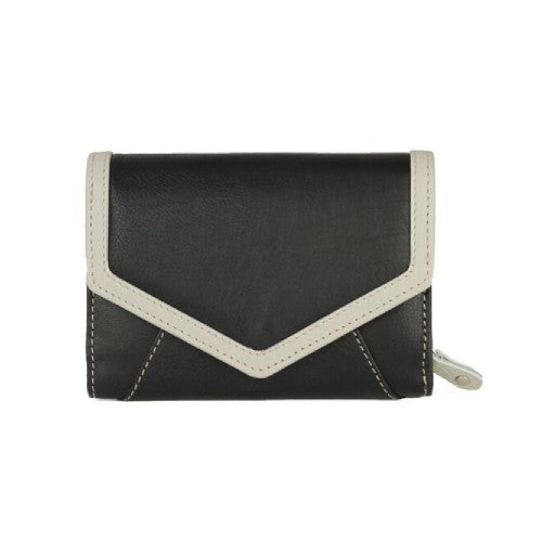 Front - Eastern Counties Leather Womens/Ladies Carla Envelope Style Wallet