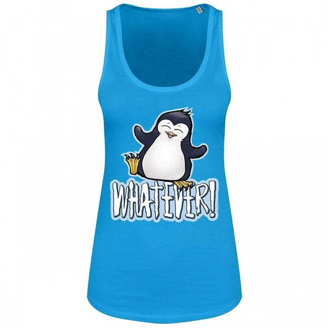 Front - Psycho Penguin Whatever Ladies Floaty Tank