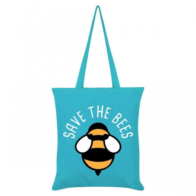 Front - Grindstore Save The Bees Tote Bag
