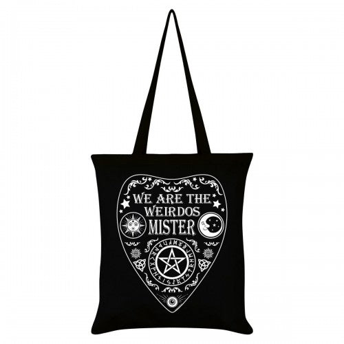 Front - Grindstore We Are The Weirdos Mister Ouija Tote Bag