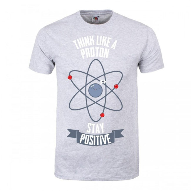 Front - Grindstore Mens Think Like A Proton T-Shirt