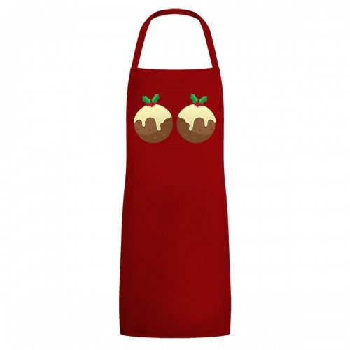 Front - Grindstore Unisex Adult Christmas Puddings Full Apron