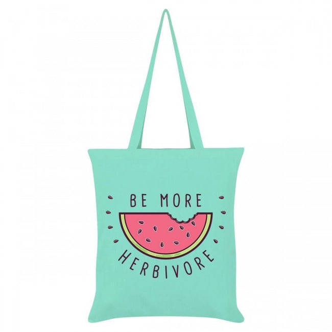 Front - Grindstore Be More Herbivore Tote Bag