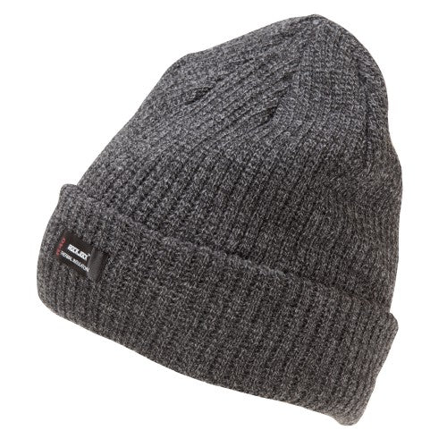 Front - Rock Jock Mens Thermal Insulation Chunky Knit Beanie