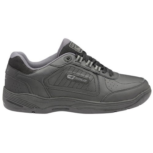 Front - Gola Mens Belmont WF Wide Fit Sneakers/Trainers