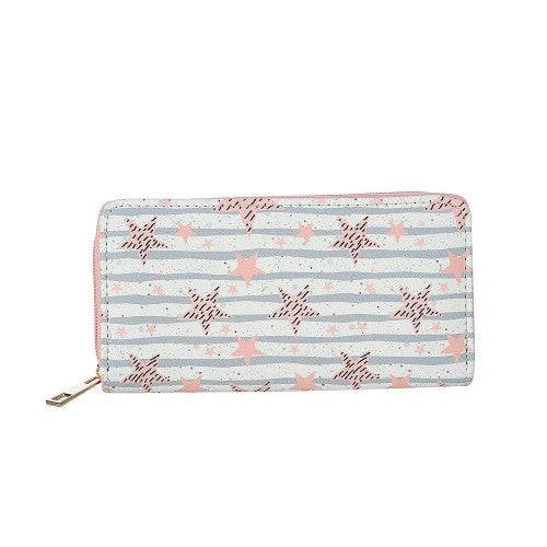 Front - Fable Womens/Ladies Star Print Large Purse