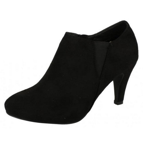 Front - Anne Michelle Womens/Ladies Low Cut Ankle Boots